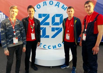 Тамбовские студенты вернулись с наградами государственного чемпионата «Молодые профессионалы»
