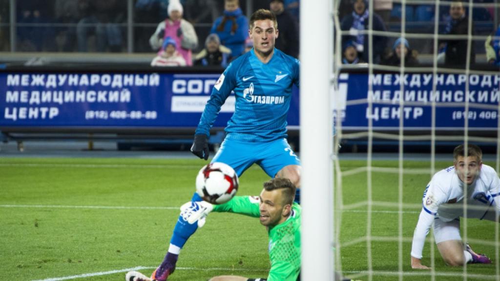 «Зенит» победил вгостях «Оренбург» благодаря сомнительному пенальти