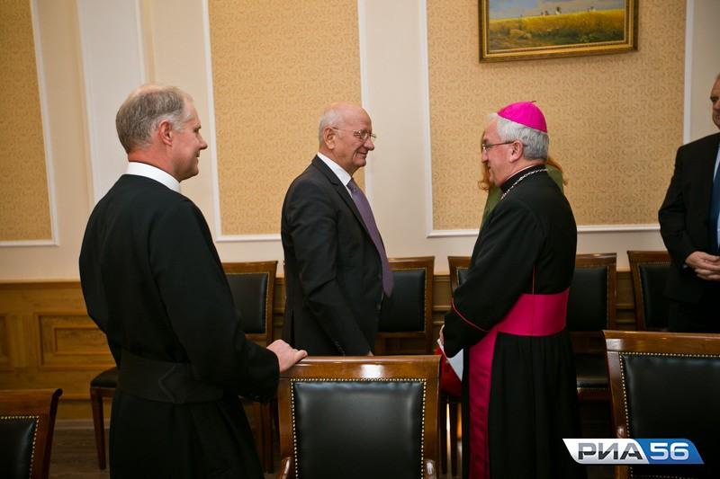 Посол Ватикана предложил осуществлять культурный обмен сОренбуржьем