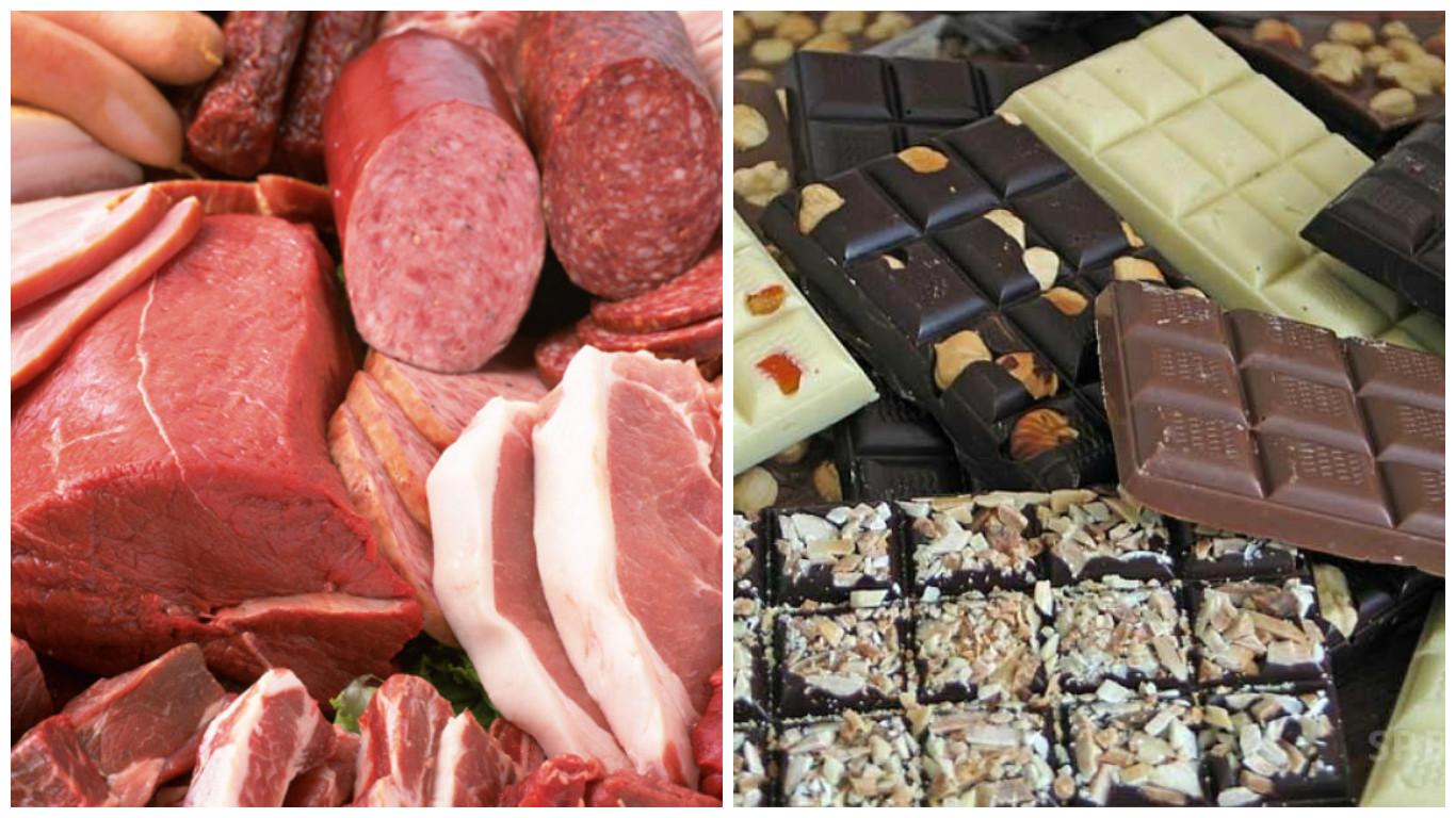 Мясо ишоколад оказывают воздействие напсихику человека— Ученые