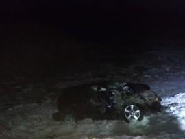 Уснул за рулем: на трассе Самара-Оренбург водитель внедорожника протаранил два грузовика