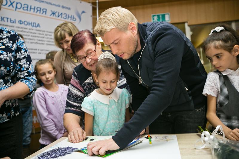 Николай Басков после концерта пожертвует часть средств для оренбургских детей