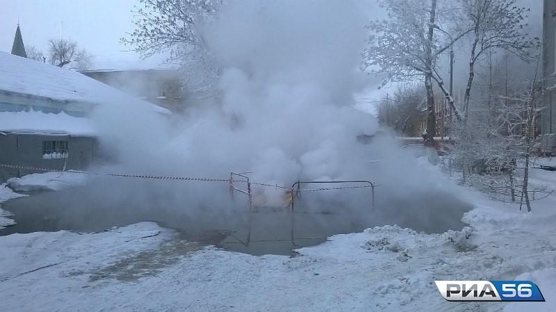 ВОренбурге из-за аварии надороге натеплосети под ограничение попали 14 домов