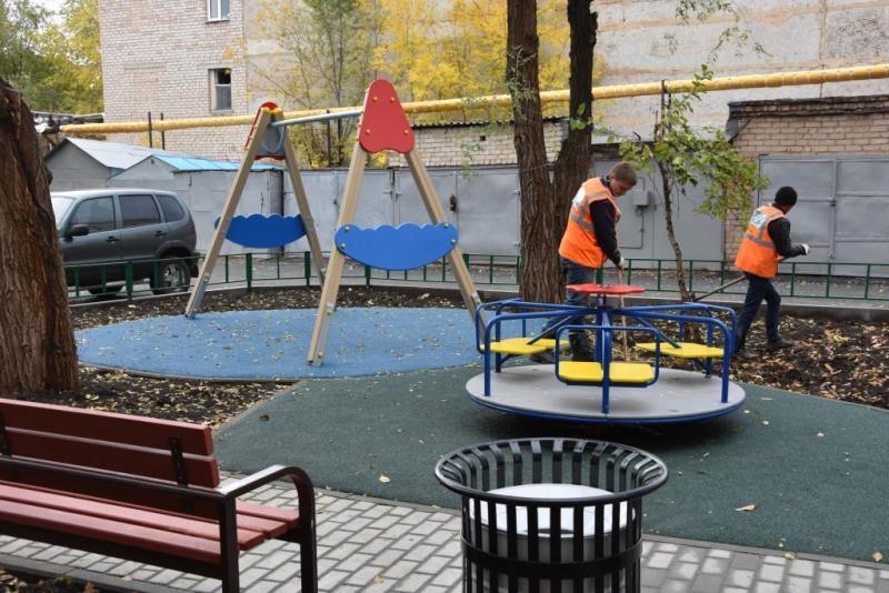 Дворик помотивам сказки «Дюймовочка» появился вОренбурге