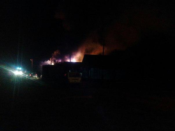 150 квадратных метров горело вцентре Оренбурга