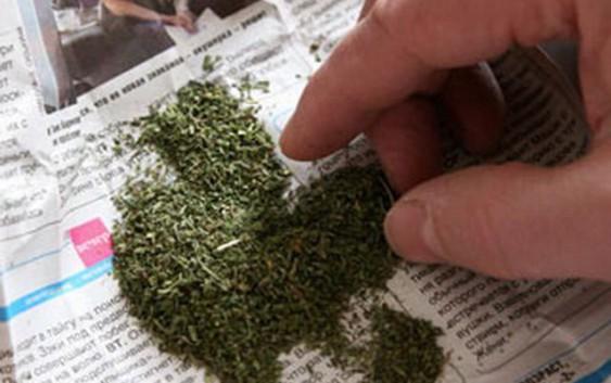 ВОренбуржье юноша  запас назиму 380 граммов марихуаны