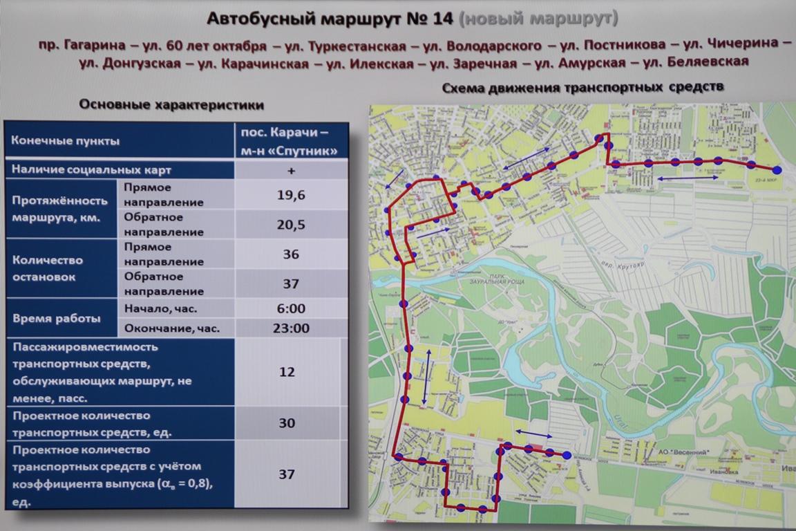 схема маршрут 27 в оренбурге