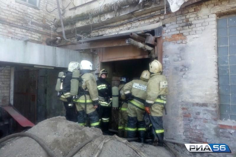 ВОренбурге произошёл пожар назаводе попроизводству масла