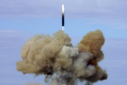 Российская Федерация произвела запуск межконтинентальной баллистической ракеты «Стилет»