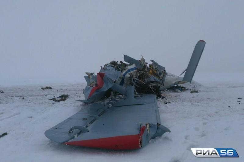 ВОренбургской области разбился АН-2, вылетевший сегодня изСтерлитамака вОрск