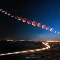 В Оренбурге будут наблюдать полное лунное затмение