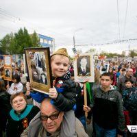 Оренбург вновь собирает шествие «Бессмертного полка»