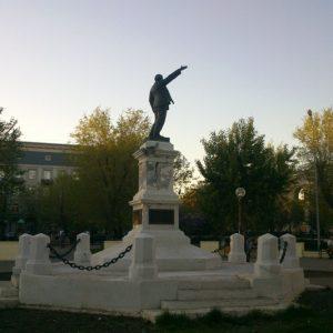 В оренбургском минкульте рассказали, как будут восстанавливать памятник Ленину