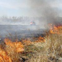 В Оренбургской области объявили четвертый класс пожарной опасности