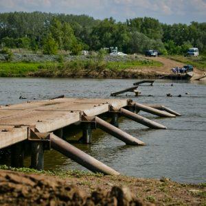 Военные из Башкирии построят понтонный мост в Нижнеозерном