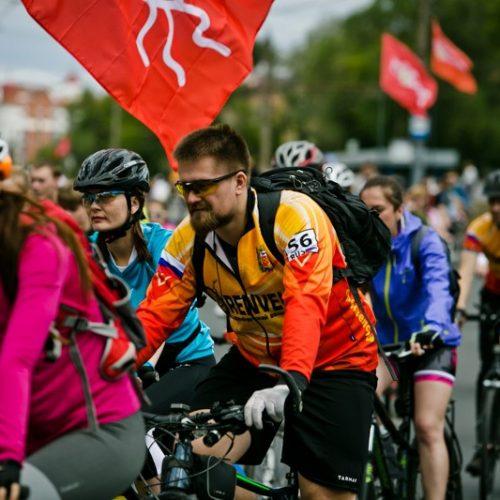 Крути педали! По Оренбургу проехали тысячи велосипедистов