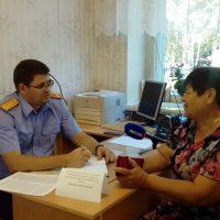 Следователи встретились с жителями села Зеркло после наводнения