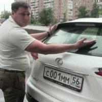Два миллиона на сиденье Lexus: опубликовано видео задержания Борисова