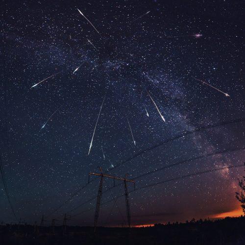 Главный звездопад года: «Смотри на звезды» наблюдали метеорный поток Персеиды