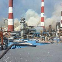 Пожар у Гелиевого завода тушили более 100 человек