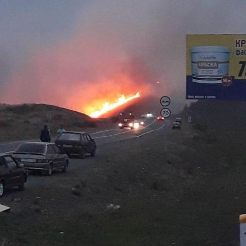Отстояли село: жители Идельбаево рассказали о пожаре