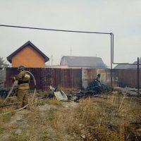Огонь отступил: эвакуацию жителей посёлка 9 Января отменили