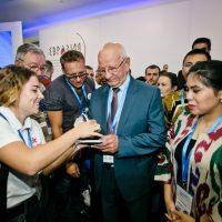 Юрий Берг обсудил с участниками «Евразии» глобальные вызовы современности