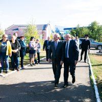«Городская среда» пришла в Октябрьский район: что изменилось в райцентре за лето?