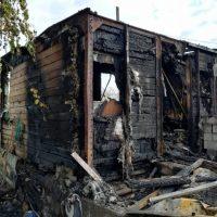 В Оренбургском районе собирают помощь пострадавшей от пожара семье с детьми