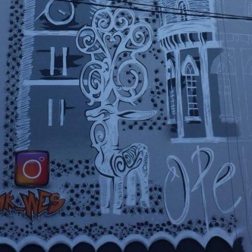 Фасад оренбургской пятиэтажки «окутал» пуховый платок