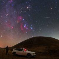 Оренбуржцы смогут наблюдать звездопад Ориониды