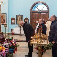 В Орске прощаются с погибшими при крушении Ан-148
