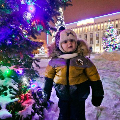 Оренбург нарядный. RIA56 публикует фото самых ярких ёлок города