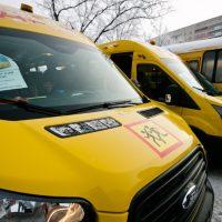 За знаниями на новых автобусах. Школы Оренбуржья получили ПАЗы и «Форды»