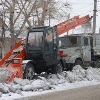 Дороги Оренбурга расчистят лаповые снегопогрузчики