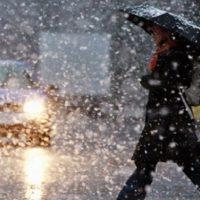 Снег с дождём: Скандинавский циклон принёс в Оренбуржье оттепель
