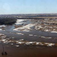 Большая вода угрожает северо-западу Оренбуржья