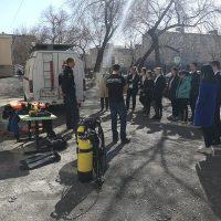 Опасная вода: «ОренСпас» и АСС провели занятие в «Школе безопасности»