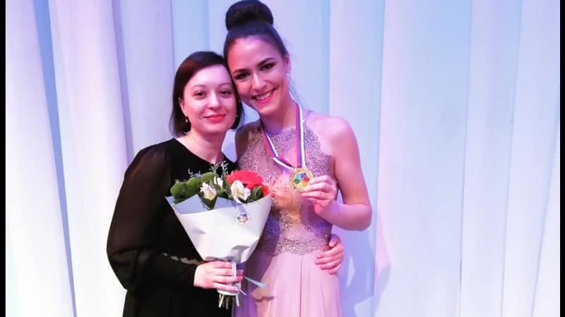 Золотой голос. Оренбургская студентка стала победителем Дельфийских игр