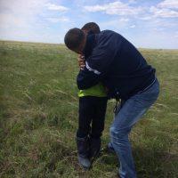 Оренбургские пограничники нашли пропавшего ребенка