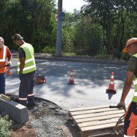 В Оренбурге на девяти участках продолжат ремонтировать дороги