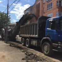 В Оренбурге дорожный ремонт продолжается на девяти участках