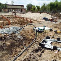 Нацпроекты в действии: в Светлом завершают строительство фонтана