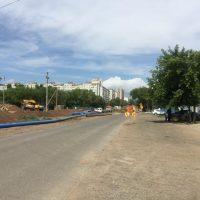 В Оренбурге ремонт улицы Уральской затягивается из-за коммуникаций