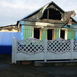 Трехлетний ребенок и взрослый мужчина погибли на пожаре в Оренбуржье