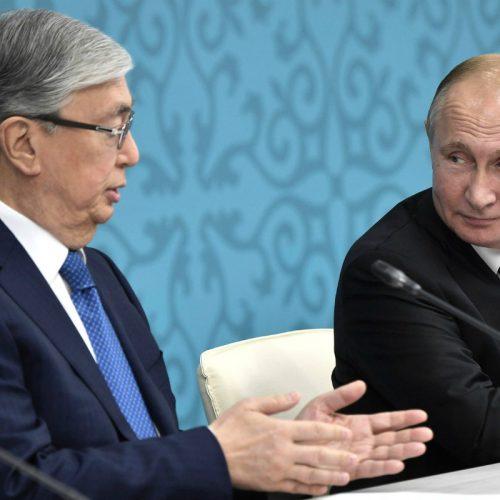 Проблемы реки Урал обсудили президенты России и Казахстана