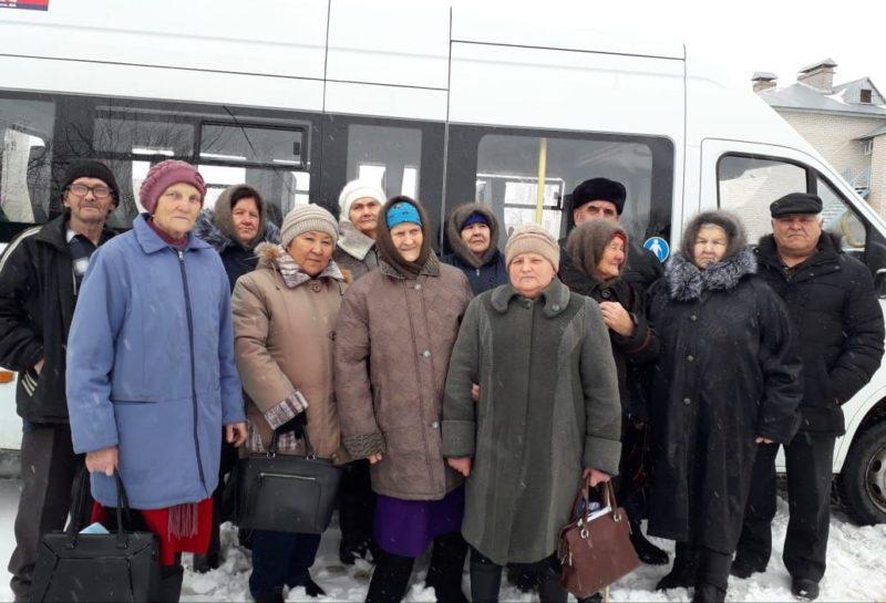 Пожилых сельчан обследовали в Ташлинской больнице