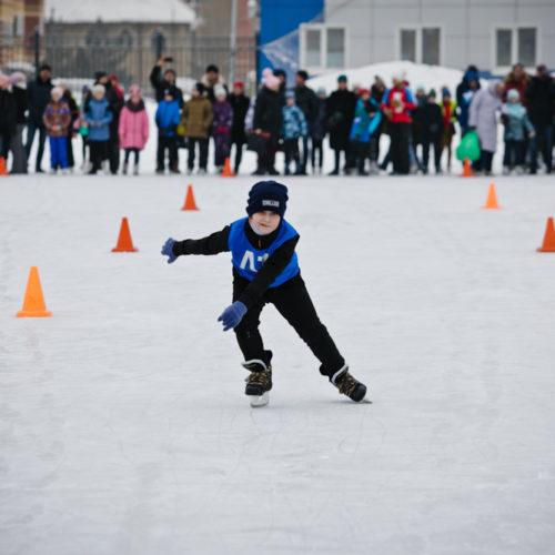 Фоторепортаж RIA56: Всероссийские соревнования по конькобежному спорту в Оренбурге