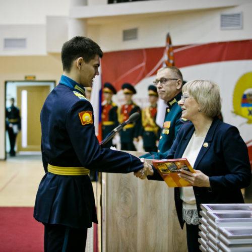 В Президентском кадетском училище Оренбурга наградили педагогов и учащихся