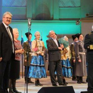 Оренбургский русский народный хор выступил с новой программой в Москве